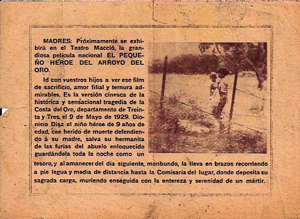 CINE URUGUAYO: UNA MINIHISTORIA (II)